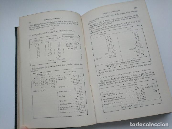Libros antiguos: TRATADO DE NAVEGACIÓN Y ASTRONOMÍA NÁUTICA (1871) - NAVIGATION AND NAUTICAL ASTRONOMY - JOHN RIDDLE - Foto 7 - 208290083