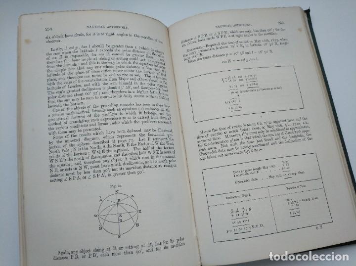 Libros antiguos: TRATADO DE NAVEGACIÓN Y ASTRONOMÍA NÁUTICA (1871) - NAVIGATION AND NAUTICAL ASTRONOMY - JOHN RIDDLE - Foto 8 - 208290083
