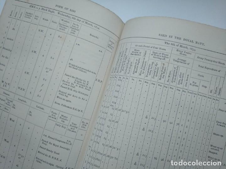 Libros antiguos: TRATADO DE NAVEGACIÓN Y ASTRONOMÍA NÁUTICA (1871) - NAVIGATION AND NAUTICAL ASTRONOMY - JOHN RIDDLE - Foto 9 - 208290083