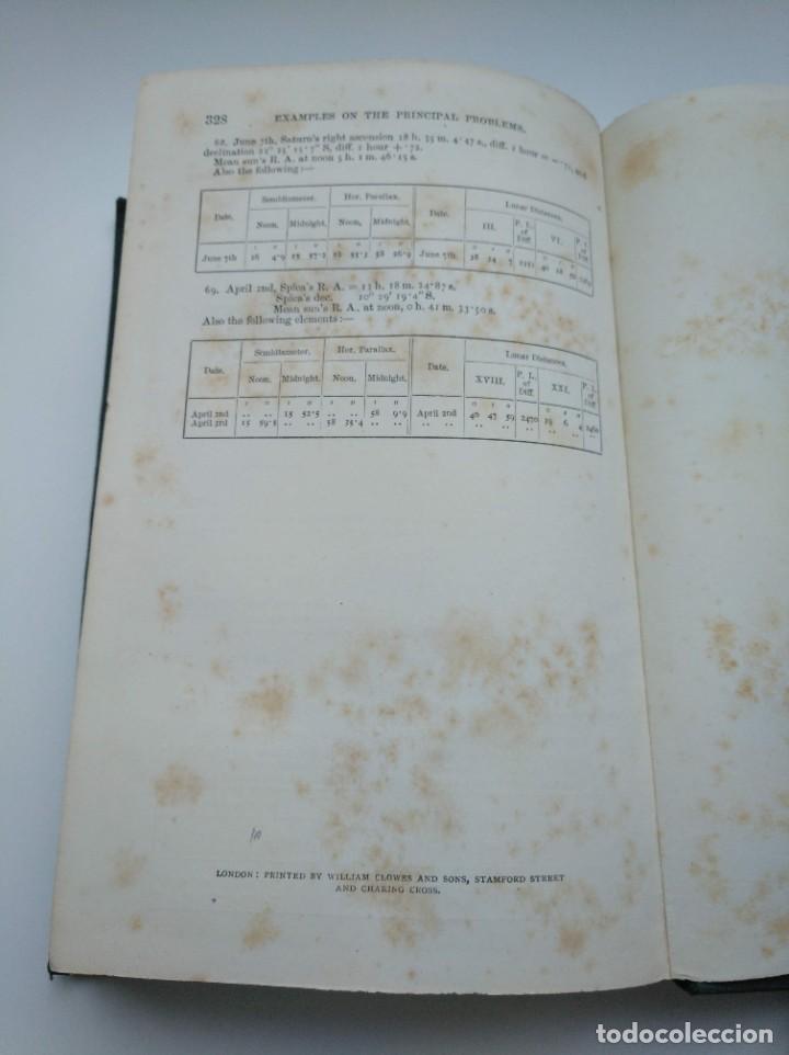 Libros antiguos: TRATADO DE NAVEGACIÓN Y ASTRONOMÍA NÁUTICA (1871) - NAVIGATION AND NAUTICAL ASTRONOMY - JOHN RIDDLE - Foto 10 - 208290083