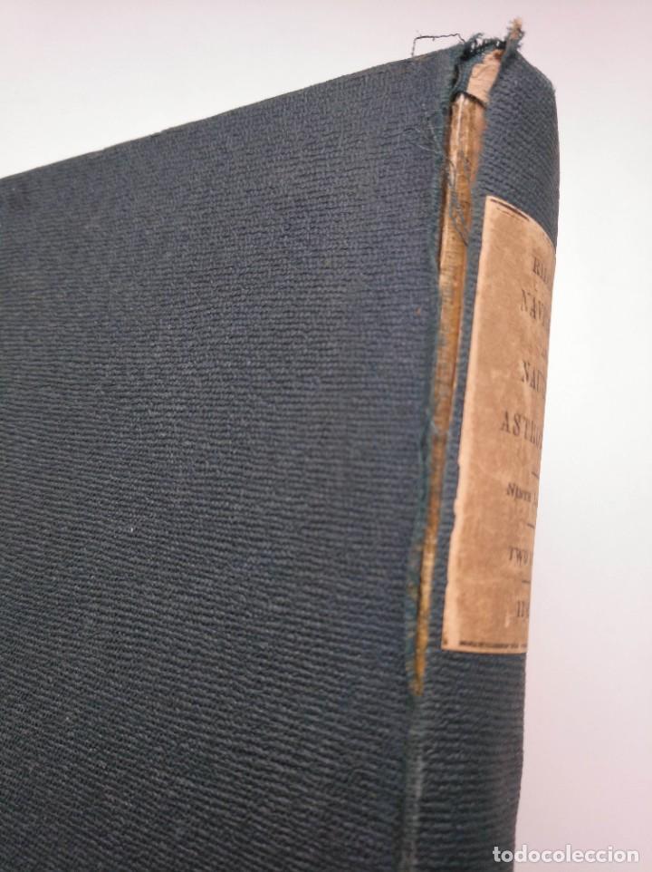 Libros antiguos: TRATADO DE NAVEGACIÓN Y ASTRONOMÍA NÁUTICA (1871) - NAVIGATION AND NAUTICAL ASTRONOMY - JOHN RIDDLE - Foto 11 - 208290083