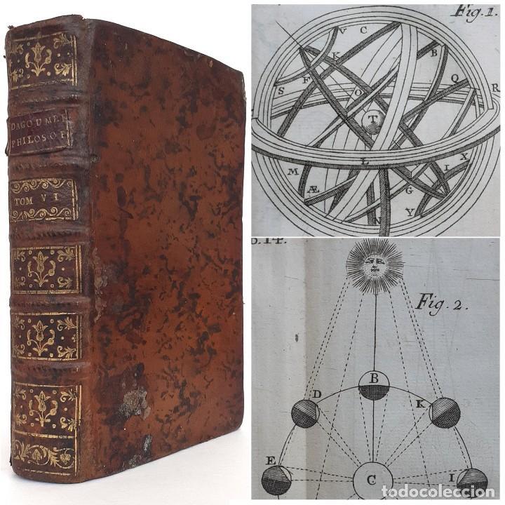 1767 - ASTRONOMÍA, COSMOLOGÍA - PTOLOMEO, COPÉRNICO, TYCHO BRAHE, PLANETAS, COMETAS - 16 LÁMINAS (Libros Antiguos, Raros y Curiosos - Ciencias, Manuales y Oficios - Astronomía)