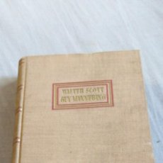 Libros antiguos: GUY MANNERING POR WALTER SCOTT. Lote 208443026