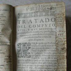 Libros antiguos: 1614. TRATADO DEL COMPUTO GENERAL DE LOS TIEMPOS, POR PABLO DE MERA. Lote 208583543