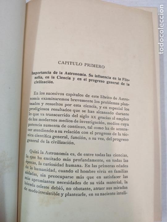 Libros antiguos: ASTRONOMIA - E. ESCLANGON - Barcelona, 1936 - Foto 6 - 208896785