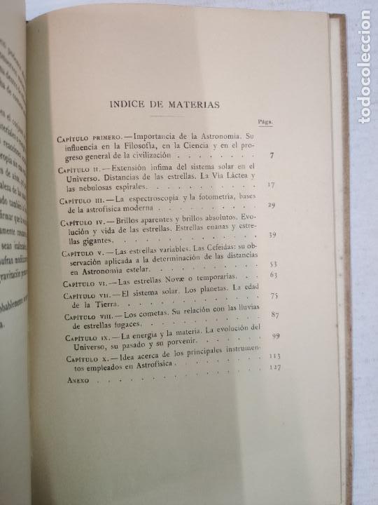 Libros antiguos: ASTRONOMIA - E. ESCLANGON - Barcelona, 1936 - Foto 10 - 208896785
