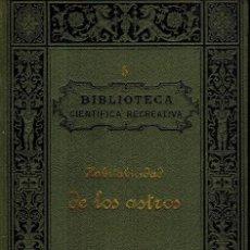 Libros antiguos: HABITABILIDAD DE LOS ASTROS. Lote 210369526
