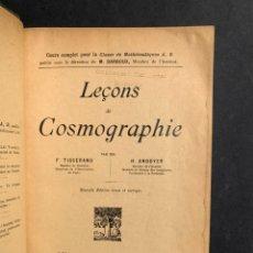 Livros antigos: LECCIONES DE COSMOGRAFIA - ASTRONOMIA -. Lote 212312697
