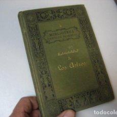Livros antigos: HABITABILIDAD DE LOS ASTROS - BIBLIOTECA CIENTÍFICA RECREATIVA-JOSÉ MORENO FUENTES-1881. Lote 212830202