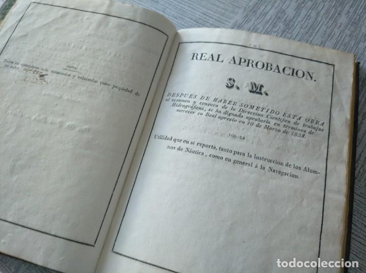 Libros antiguos: RARO: COLECCIÓN DE TABLAS DE LONGITUDES Y AUSILIARES ASTRONÓMICAS... (1838) - Foto 7 - 214571322