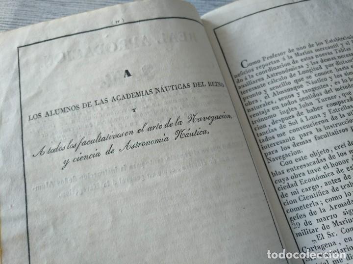 Libros antiguos: RARO: COLECCIÓN DE TABLAS DE LONGITUDES Y AUSILIARES ASTRONÓMICAS... (1838) - Foto 9 - 214571322
