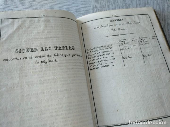 Libros antiguos: RARO: COLECCIÓN DE TABLAS DE LONGITUDES Y AUSILIARES ASTRONÓMICAS... (1838) - Foto 11 - 214571322
