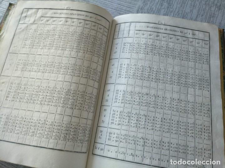 Libros antiguos: RARO: COLECCIÓN DE TABLAS DE LONGITUDES Y AUSILIARES ASTRONÓMICAS... (1838) - Foto 12 - 214571322