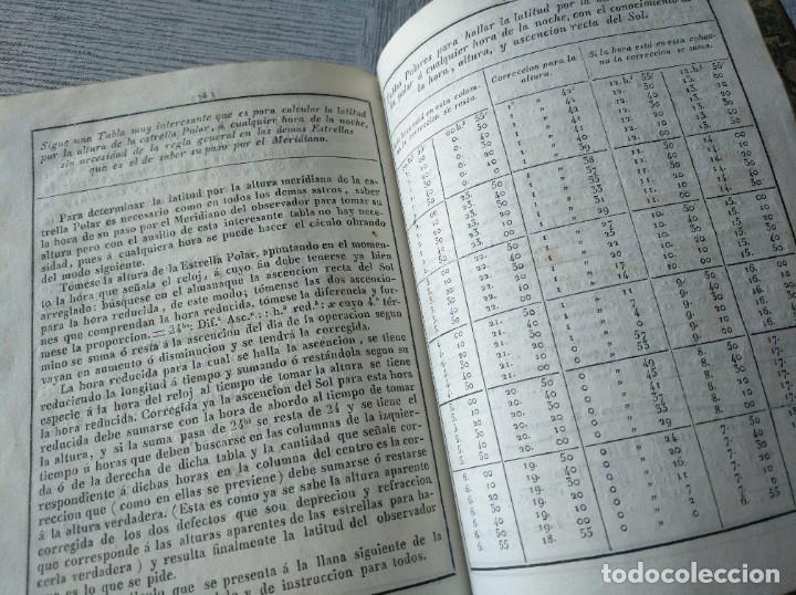 Libros antiguos: RARO: COLECCIÓN DE TABLAS DE LONGITUDES Y AUSILIARES ASTRONÓMICAS... (1838) - Foto 15 - 214571322