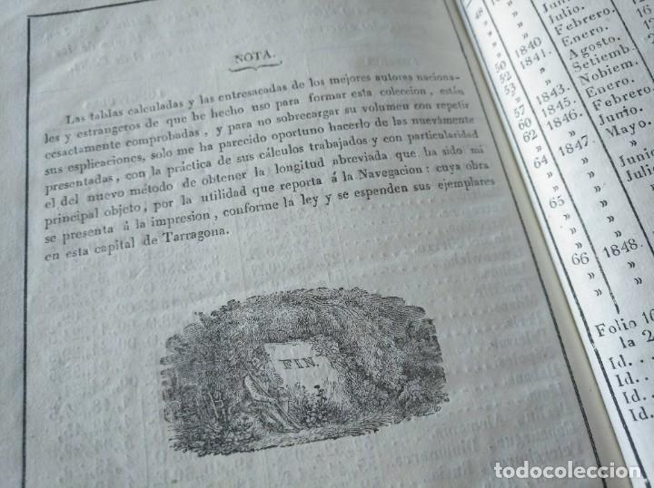 Libros antiguos: RARO: COLECCIÓN DE TABLAS DE LONGITUDES Y AUSILIARES ASTRONÓMICAS... (1838) - Foto 16 - 214571322
