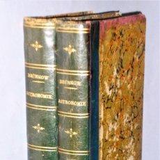 Livros antigos: TRAITÉ D´ASTRONOMIE SPHÉRIQUE ET D´ASTRONOMIE PRATIQUE. 2 TOMOS. Lote 216743658