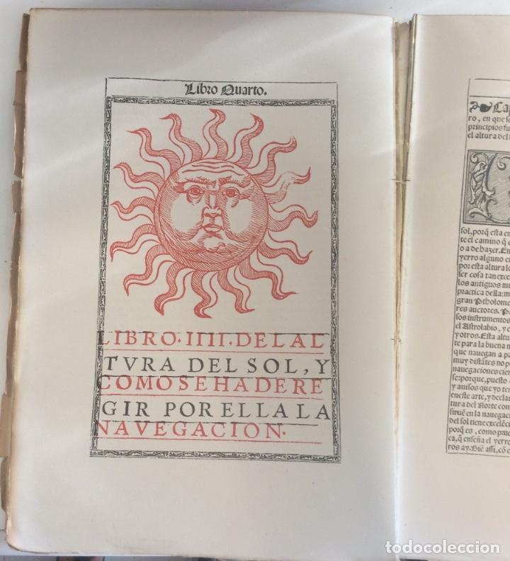Libros antiguos: MEDINA PEDRO DE: (FACSIMIL)ARTE DE NAVEGAR ,MADRID 1945 - Foto 3 - 217111663