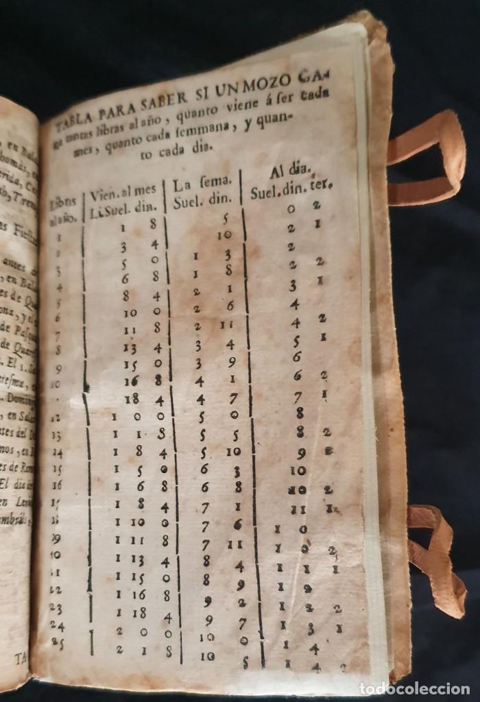 Libros antiguos: LUNARIO Y PRONOSTICO PERPETUO - 1768 - GERONIMO CORTÈS - GRABADOS - BUEN ESTADO. - Foto 5 - 217905183
