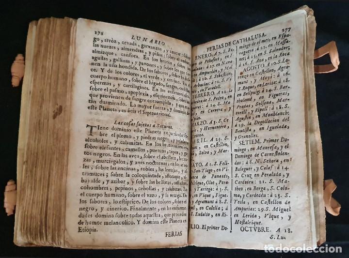 Libros antiguos: LUNARIO Y PRONOSTICO PERPETUO - 1768 - GERONIMO CORTÈS - GRABADOS - BUEN ESTADO. - Foto 6 - 217905183