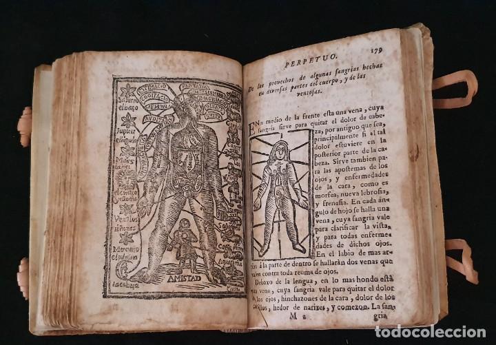 Libros antiguos: LUNARIO Y PRONOSTICO PERPETUO - 1768 - GERONIMO CORTÈS - GRABADOS - BUEN ESTADO. - Foto 9 - 217905183