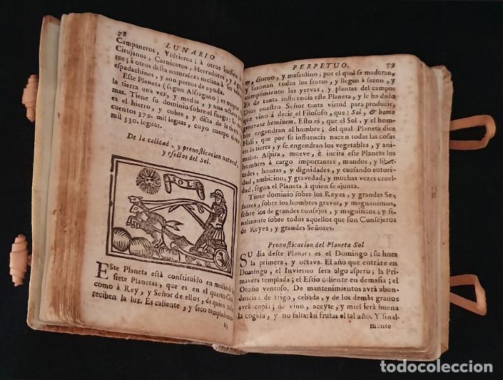 Libros antiguos: LUNARIO Y PRONOSTICO PERPETUO - 1768 - GERONIMO CORTÈS - GRABADOS - BUEN ESTADO. - Foto 11 - 217905183
