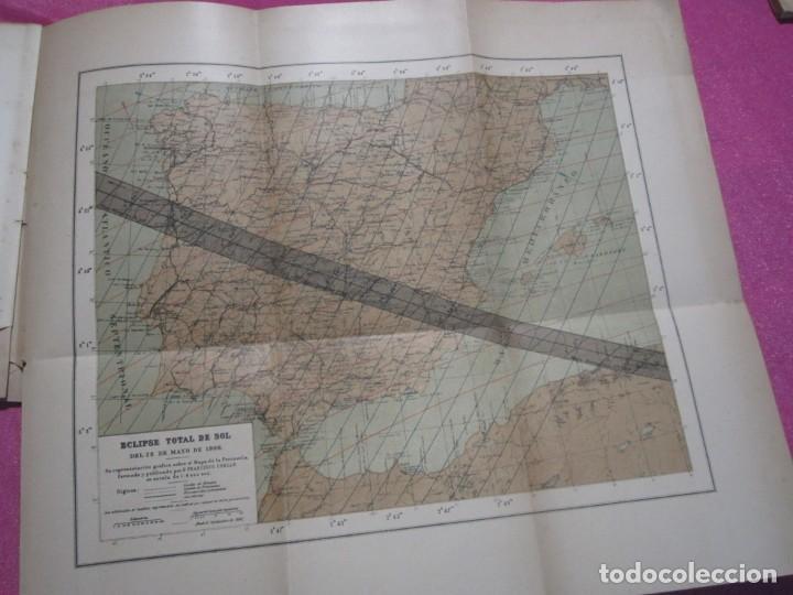 Libros antiguos: MEMORIA SOBRE EL ECLIPSE TOTAL DE SOL OBSERVATORIO ASTRONOMICO DE MADRID 1899 - Foto 4 - 222396782