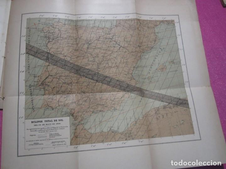 Libros antiguos: MEMORIA SOBRE EL ECLIPSE TOTAL DE SOL OBSERVATORIO ASTRONOMICO DE MADRID 1899 - Foto 6 - 222396782
