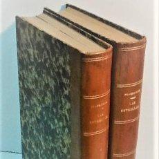 Livros antigos: CAMILO FLAMMARIO ... LAS ESTRELLAS Y CURIOSIDADES DEL CIELO ... 1883 - 1884. Lote 224347562