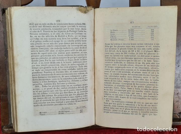 Libros antiguos: ASTRONOMIA FISICA, NOCIONES. JOSE REGUERO. IMP. SEMANARIO E ILUSTRACION. 1850. - Foto 4 - 224951160