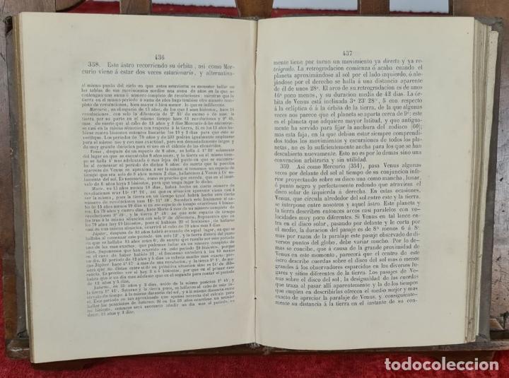 Libros antiguos: ASTRONOMIA FISICA, NOCIONES. JOSE REGUERO. IMP. SEMANARIO E ILUSTRACION. 1850. - Foto 5 - 224951160