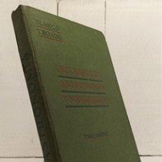 """Libros antiguos: """"LECCIONES DE ASTRONOMÍA Y NAVEGACIÓN"""" DE BLANCO Y BOADO (1923) EDIT. DOCHAO. Lote 228020060"""