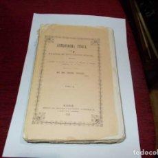 Livros antigos: ASTRONOMIA FISICA TOMO II DEL AÑO 1851 LEER MAS ABAJO. Lote 229494280