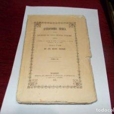 Livros antigos: ASTRONOMIA FISICA TOMO III DEL AÑO 1851-LEER MAS ABAJO. Lote 229494355