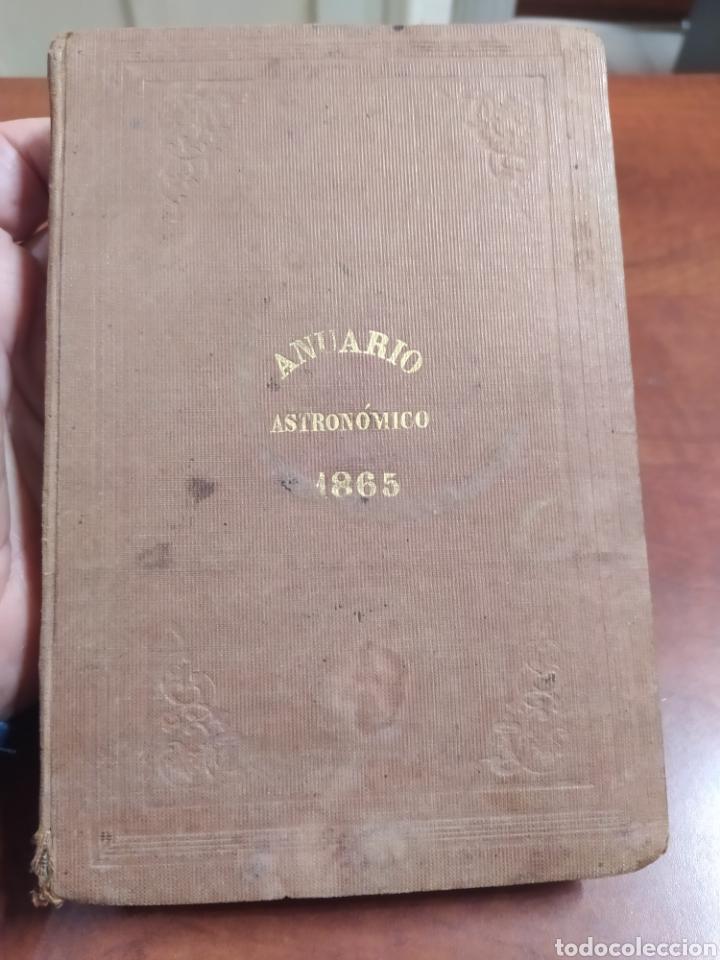 REAL OBSERVATORIO DE MADRID 1865. (Libros Antiguos, Raros y Curiosos - Ciencias, Manuales y Oficios - Astronomía)