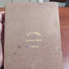 Libros antiguos: REAL OBSERVATORIO DE MADRID 1865.. Lote 231382370