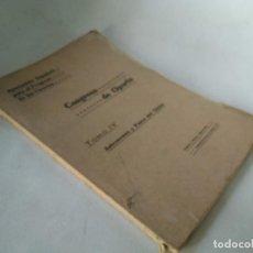 Libros antiguos: CONGRESO DE OPORTO. ASTRONOMÍA Y FÍSICA DEL GLOBO. AÑO 1923. Lote 233446850