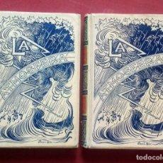 Libros antiguos: LA ATMOSFERA - CAMILO FLAMMARION - MONTANER Y SIMON 1902. Lote 233482015