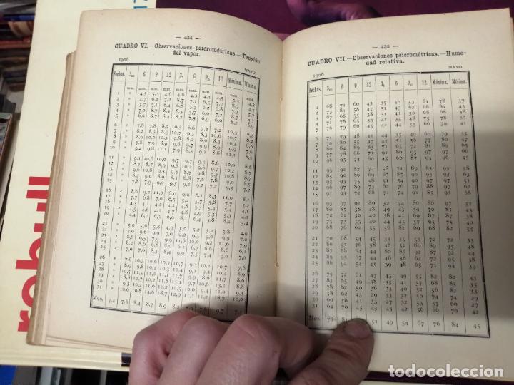 Libros antiguos: ANUARIO DEL OBSERVATORIO DE MADRID PARA 1908 . IMPRENTA DE BAILLY. 1907. PLANETAS, FENÓMENOS SOLARES - Foto 17 - 234411120