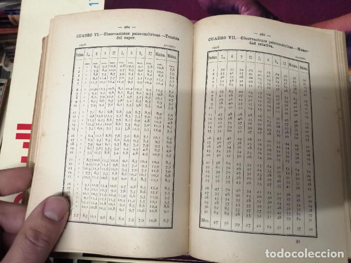 Libros antiguos: ANUARIO DEL OBSERVATORIO DE MADRID PARA 1908 . IMPRENTA DE BAILLY. 1907. PLANETAS, FENÓMENOS SOLARES - Foto 19 - 234411120