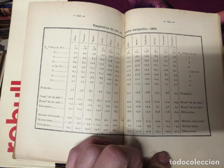 Libros antiguos: ANUARIO DEL OBSERVATORIO DE MADRID PARA 1908 . IMPRENTA DE BAILLY. 1907. PLANETAS, FENÓMENOS SOLARES - Foto 21 - 234411120