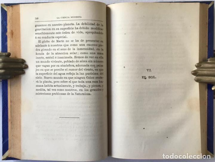 Libros antiguos: VIAJE POR EL ESPACIO. ÚLTIMOS ESTUDIOS ASTRONÓMICOS. - FLAMMARION, Camilo. - Foto 5 - 237453225
