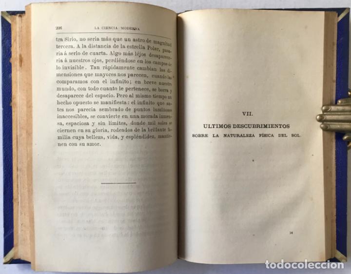 Libros antiguos: VIAJE POR EL ESPACIO. ÚLTIMOS ESTUDIOS ASTRONÓMICOS. - FLAMMARION, Camilo. - Foto 6 - 237453225