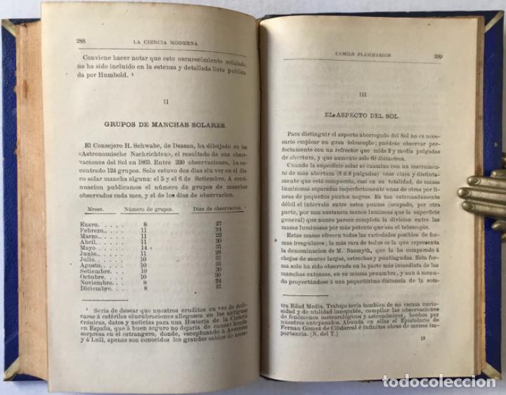 Libros antiguos: VIAJE POR EL ESPACIO. ÚLTIMOS ESTUDIOS ASTRONÓMICOS. - FLAMMARION, Camilo. - Foto 7 - 237453225
