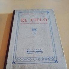 Libros antiguos: EL CIELO. VICTORIANO F. ASCARZA. EDITORIAL MAGISTERIO ESPAÑOL. 1931. PAG. 185.. Lote 241044525