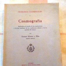 Libros antiguos: COSMOGRAFIA, AÑO 1929. Lote 241816055