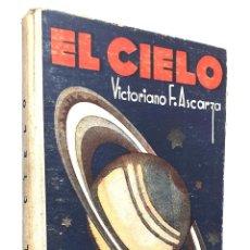 Livros antigos: 1930 - ASTRONOMÍA POPULAR ILUSTRADA - ESTRELLAS, PLANETAS, LUNA, CONSTELACIONES - CIENCIAS. Lote 243146020