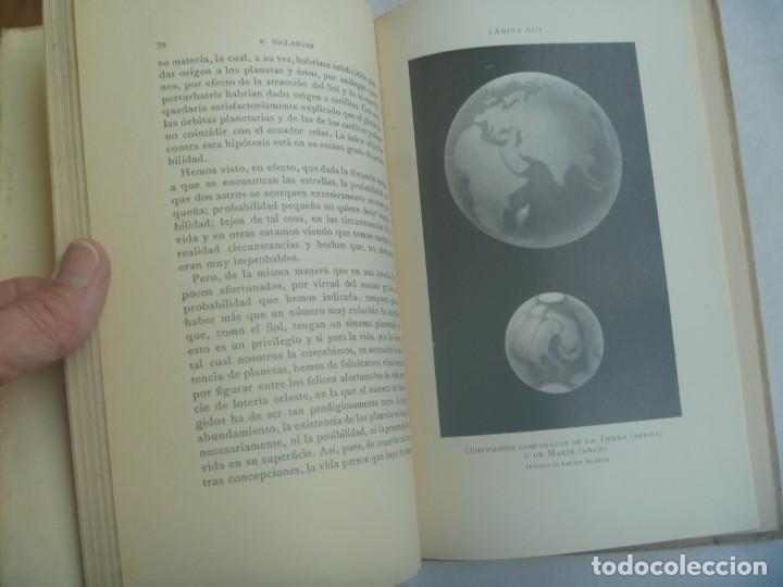 Libros antiguos: BIBLIOTECA CIENTIFICA : ASTRONOMIA POR E. ESCLANGON . MONTANER Y SIMON , 1936 - Foto 3 - 245723670