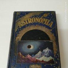 Libros antiguos: ASTRONOMIA JOSE COMAS SOLA ILUSTRADO. Lote 246432545