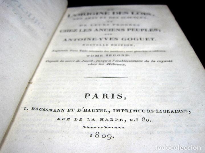 Libros antiguos: Año 1809 Astronomía Egipto 21 en el mundo Artes y Ciencias de la Antigüedad Arquitectura - Foto 7 - 246597525