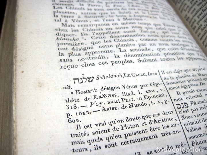 Libros antiguos: Año 1809 Astronomía Egipto 21 en el mundo Artes y Ciencias de la Antigüedad Arquitectura - Foto 8 - 246597525